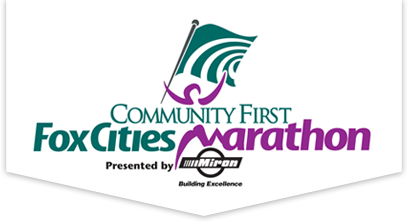 Community First Fox Cities Marathon logo