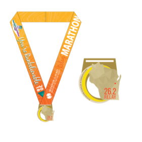 Yellow Orthopedic and Sports medal.