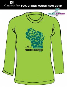 2019 Marathon Green shirt