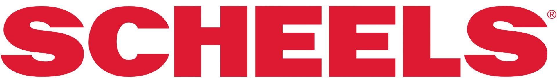 Scheels logo.